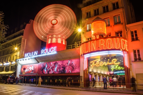 Moulin Rouge 's avonds