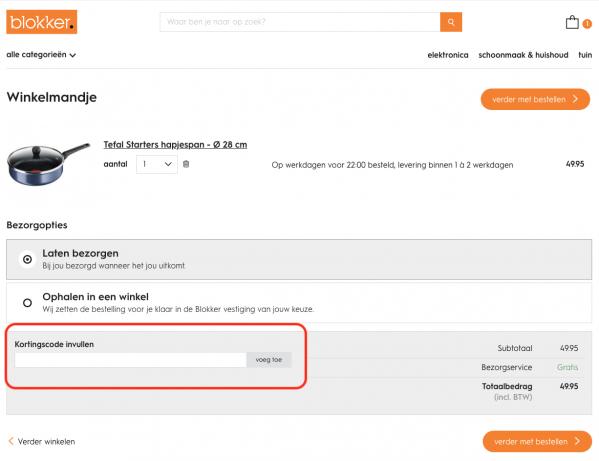 3a3430685fb Blokker Kortingscode 2019 → Nu tot 50% korting + gratis verzending