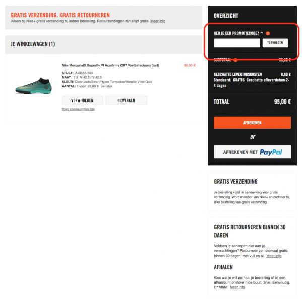 Nike Promotiecode: nu nog 30% KORTING voor jou!
